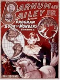 Poster for the Barnum & Bailey Circus