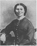 Clara Barton, nurse and founder of the American Red Cross