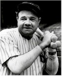 Babe Ruth, the power behind Yankee Stadium