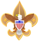 Emblem of the international Boy Scouts