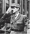 General Charles De Gaulle arrives in Paris