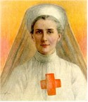 Edith Cavell, around the turn of the century