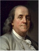 Benjamin Franklin helped negotiate the Treaty of Paris