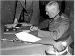 Field Marshal Keitel surrenders for Germany