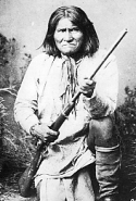 Chiricahua Apache chief Geronimo