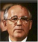 Mikhail S. Gorbachev, eighth and last leader of the old Soviet Union