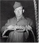 MSgt John Woods, 3rd Army hangman, took care of the condemned Nazis