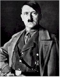 Newly crowned German führer Adolf Hitler