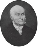 Mr. Adams failed to garner a majority of the electoral votes in the 1824 presidential race