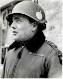 Brigadier General Anthony McAuliffe, who refused to surrender Bastogne