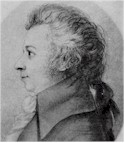 Wolfgang A. Mozart, a silver-point done late in his life.