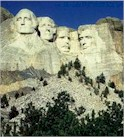 Mt. Rushmore, in the Black Hills of South Dakota