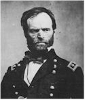 General William T. Sherman, having turned up the coast on his March to the Sea