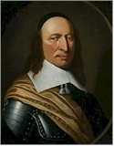 Peter Stuyvesant, governor of New Amsterdam