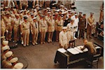 Today in History: Allies Accept Japanese Surrender ... click to read about it!