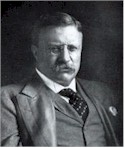 President Theodore Roosevelt, who mediated the peace