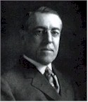 President Woodrow Wilson, whose wife helped him complete the last year of his term.