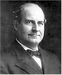 "William Jennings Bryan, warned of ""this cross of gold"""